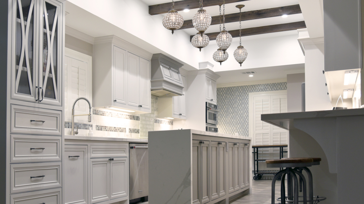 Looking for New Home Kitchen Design Ideas? Come to Visit us at Black and White Construction!